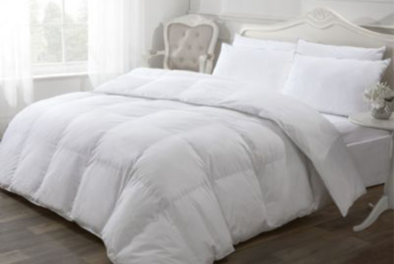 From £32.99 (from Cascade Home) for a luxury like-down duvet – choose from three tog variations and three sizes!