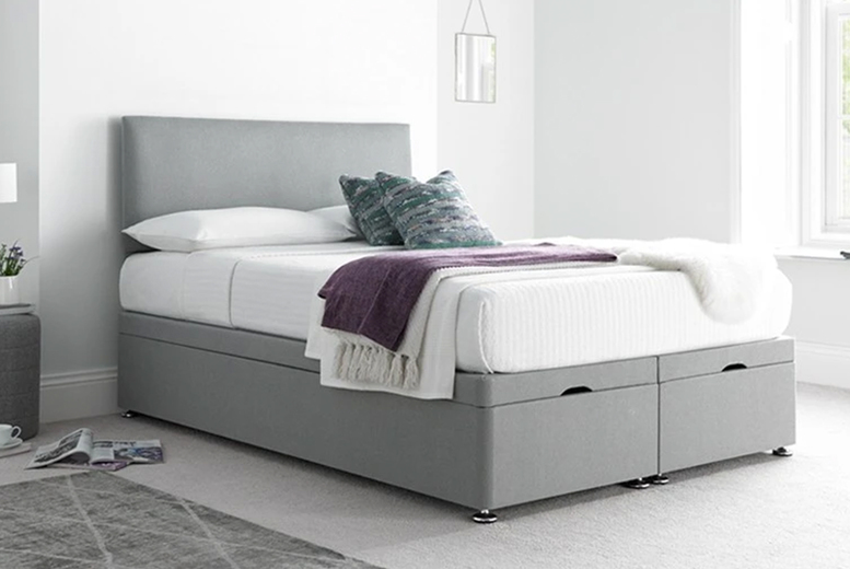 From £369 (from Serenity Designs) for a Victoria plush velvet ottoman divan bed and mattress!