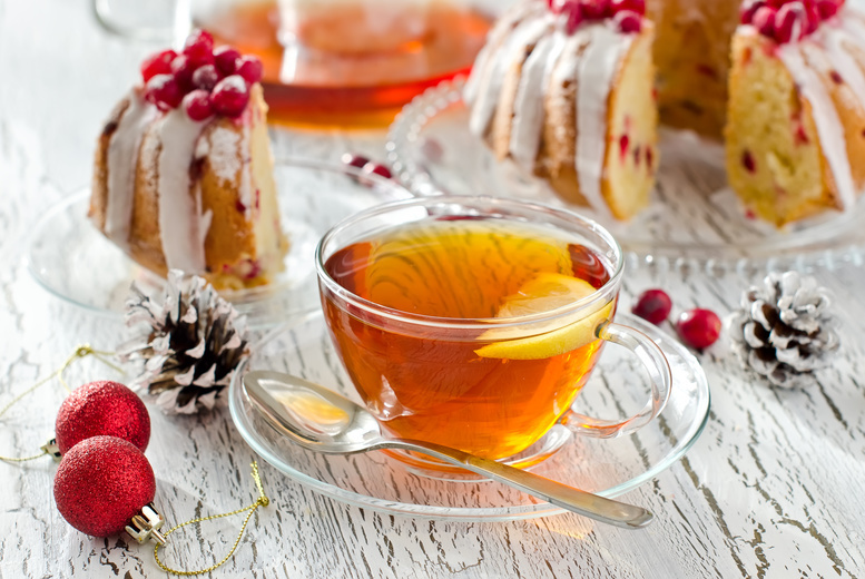 £14 instead of £30 for a festive afternoon tea for two at Molly's Tea Room – save 53%