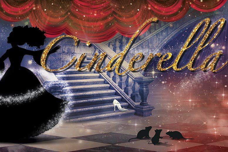 £17 instead of £34 for two tickets to the Cinderella Christmas pantomime at Lawrence Batley Theatre, Huddersfield - save 50%