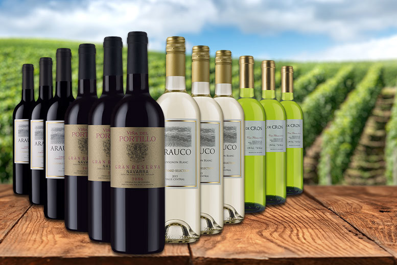£49 instead of £116.88 (from Averys) for a 12-bottle case of mixed autumn wine - enjoy a selection of reds and whites and save 58%