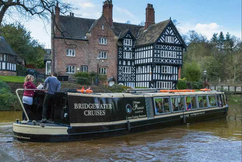 £22 instead of £44 for a festive afternoon tea and canal cruise for two from Bridgewater Heritage Boat Company, Manchester – save 50%