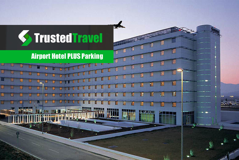 £1 for 25% off an airport hotel stay & parking from Trusted Travel - over 30 UK locations!