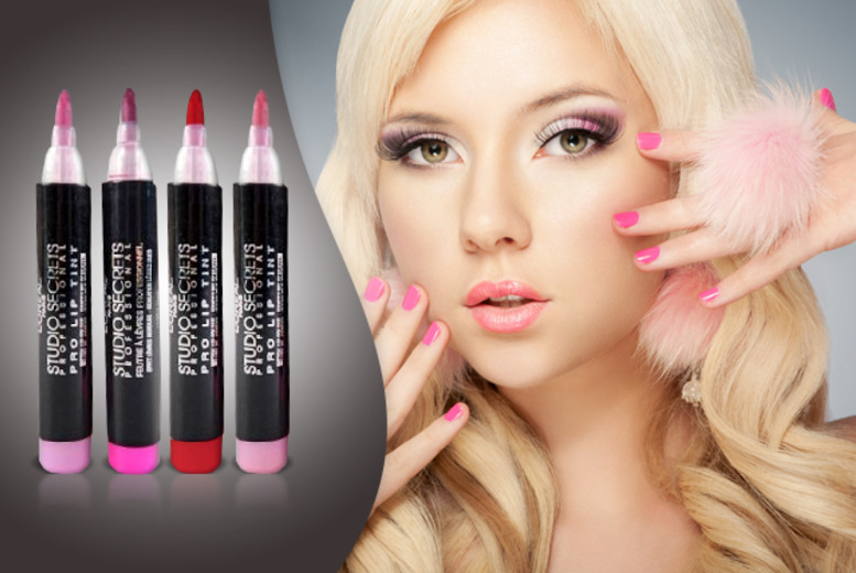 £8.99 instead of £33.96 (from Look 'N' Style) for a 4-piece L'Oreal Studio Secret Lip Tints set - save 74%
