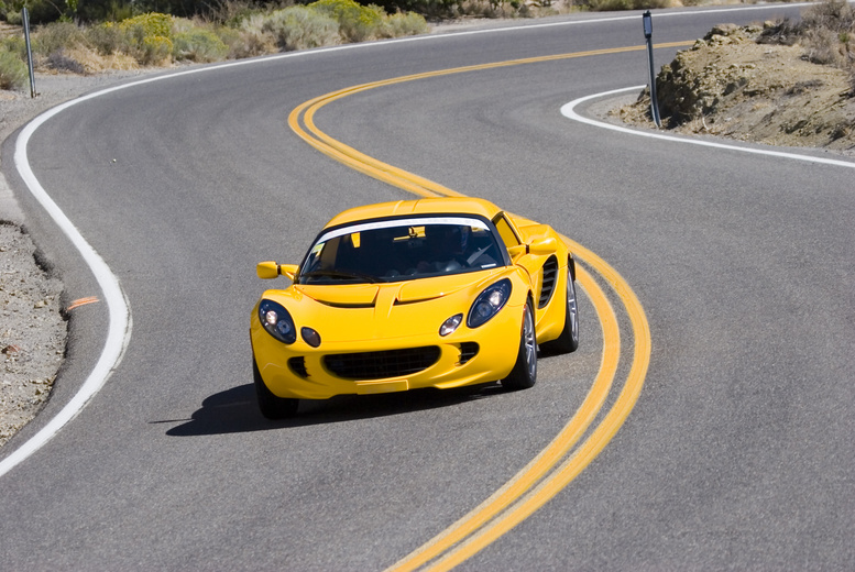 £29 for 3 laps in a choice of Lotus at Supercar Sessions, Edinburgh