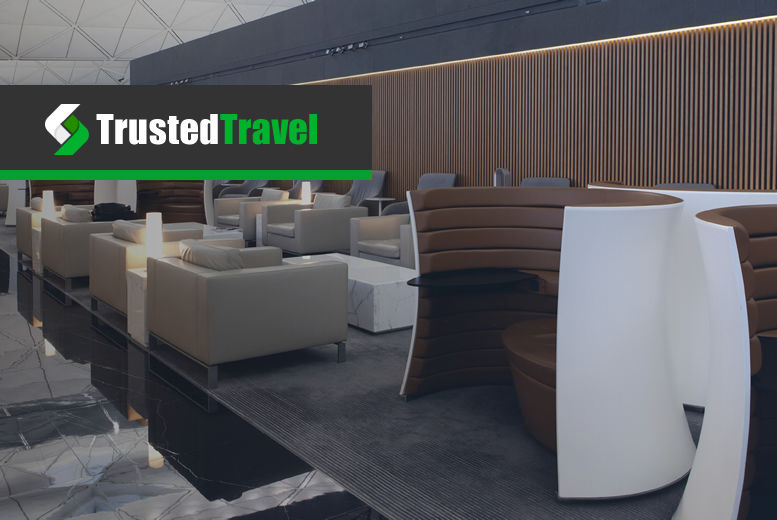 £1 for up to 25% off an airport lounge pass at 21 airports from Trusted Travel!