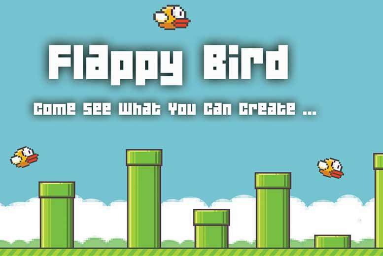 £39 instead of £295 for an online 'Flappy Bird' game designer package from e-Courses4You - save 87%