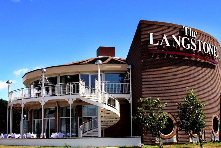 £59 (at The Langstone Hotel) for an overnight stay for two people with breakfast and leisure access, £109 for two nights, £155 for three nights - save up to 54%