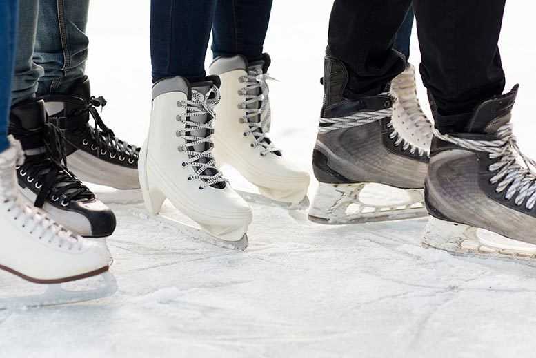 £5 instead of £10 for ice rink entry and skate hire with Silver Blades Ice Rinks - choose from eight locations and save 50%