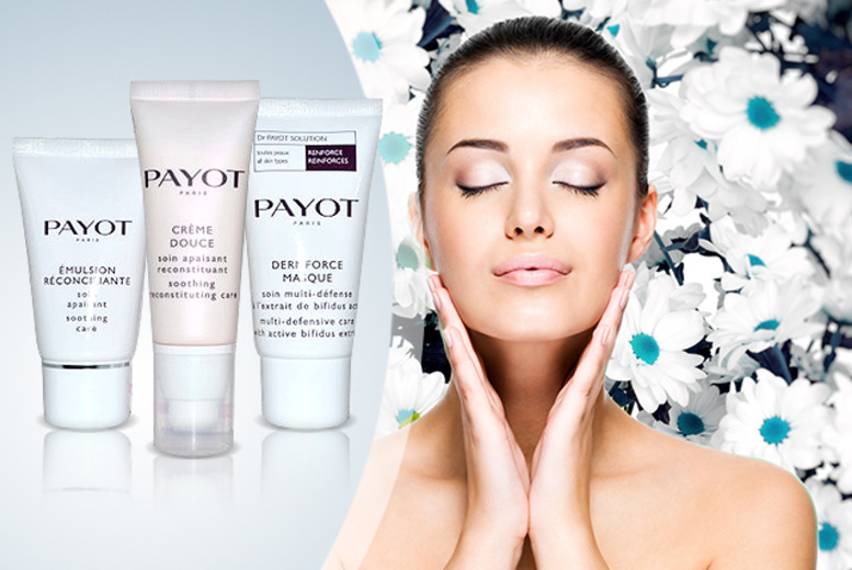 £15.99 instead of £39.99 (from Direct Cosmetics) for a Payot Paris Skincare Trio set - save 60%