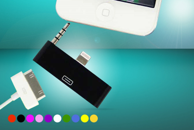 £5.99 instead of £19.99 (from Planet of Accessories) for a 30-pin to 8-pin charger and sync adapter for iPhone 5, 5s and 5c - save 70% + DELIVERY INCLUDED