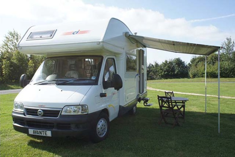 From £175 for 3-night motorhome hire for up to 4 people, from £299 for 7-night hire with AVMO Avante, Derbyshire - save 50%