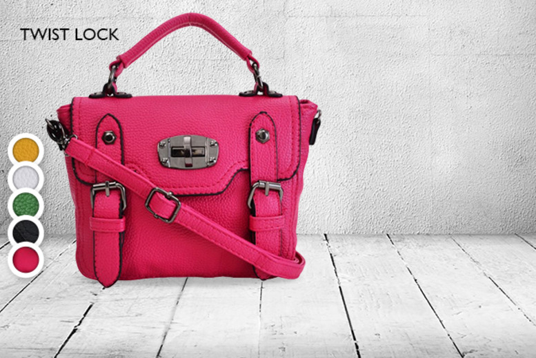 £16 instead of £29.99 (from Shuperb) for a faux leather-look vintage Faye satchel bag in a choice of designs and colours - save 47%