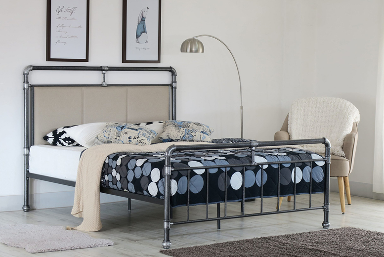 From £85 instead of £449.99 (from UKFurniture4u) for an Archer metal bed frame – choose from three options and save up to 81%