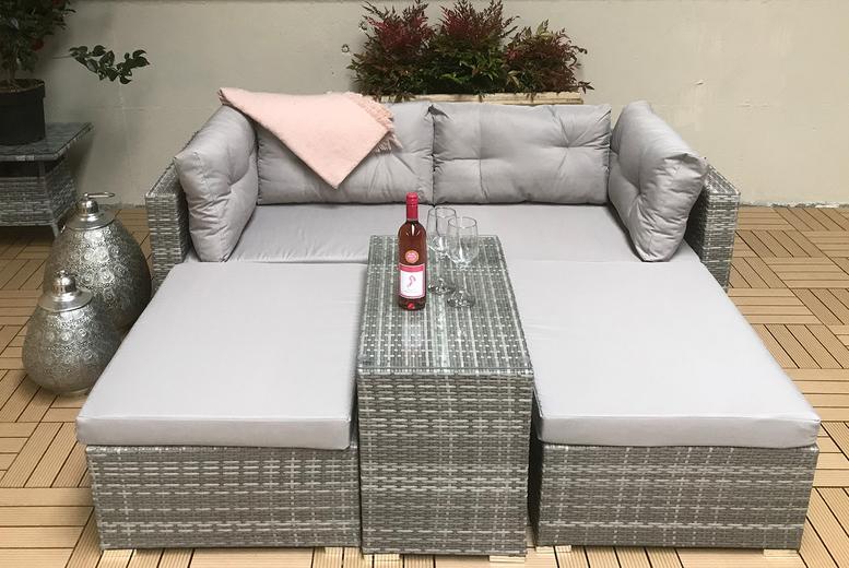 Harper Modular Rattan Sofa Set (£419)