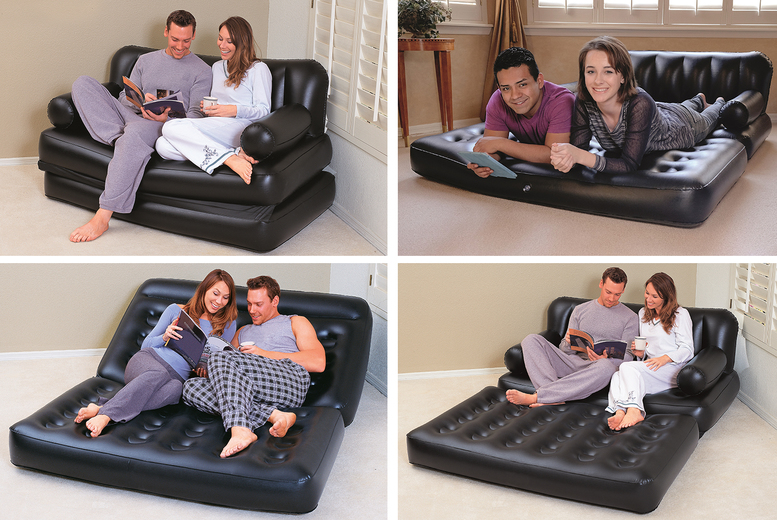£29.99 instead of £55 (from Bestway) for a multi-function inflatable sofa and air bed – save 45%