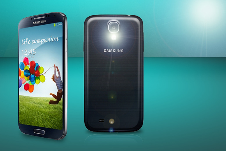 £10 instead of £79.99 (from Phones.co.uk) for a Samsung Galaxy S4 in black or white when you sign up to a 24mth contract - save 87%