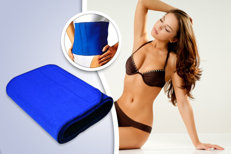 £8 instead of £39.99 (from The Treasure Chest) for a neoprene 'Waist Shaper' belt – save 80% + DELIVERY INCLUDED