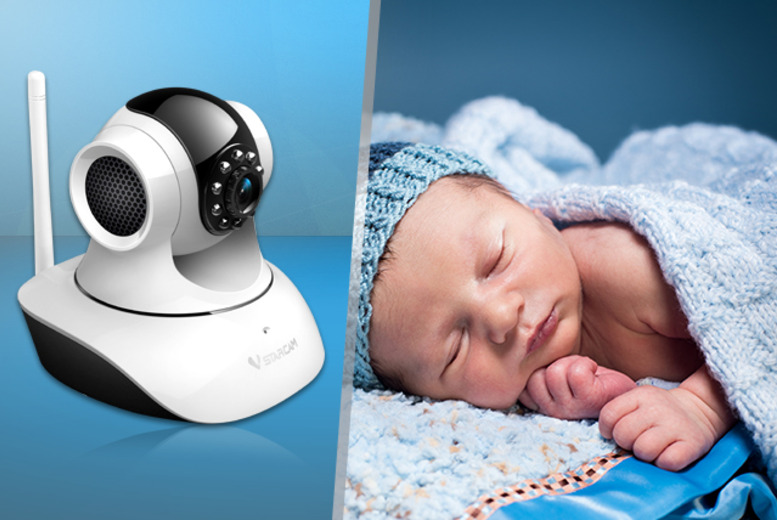 £36 (from Digi4u) for a Vstarcam wireless baby monitor - watch live video feed on your iPhone/iPad, Android phone or PC and save 40%