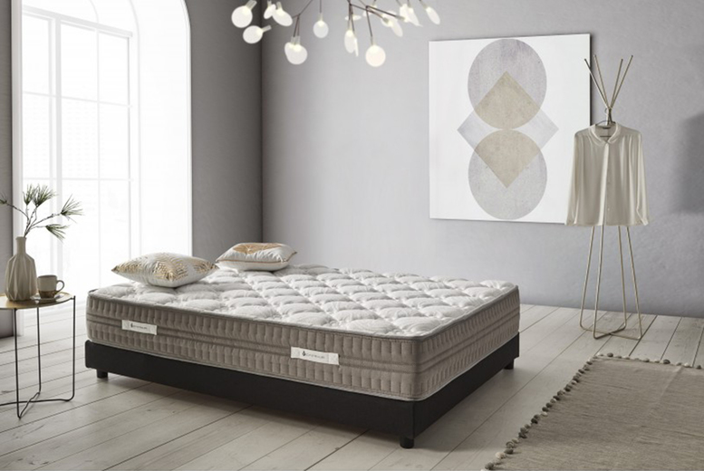 £119 (from Eccox) for a single nature premium mattress, £159 for a double, £179 for a king or £209 for a super king!
