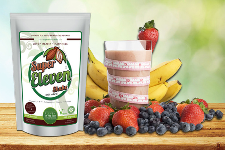 £18.99 (from Super Eleven Shake) for a 30-day* 'detox' shake kit, £28.99 for 60 days* or £36.99 for 90 days* - save up to 53%