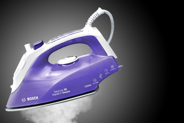 £29.99 instead of £69.99 (from AMS Global) for a Bosch TDA2656 steam iron - save a smooth 57%