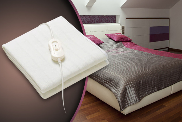 £14.99 instead of £24 (from Tooltime) for a single electric blanket, £19.99 for a double or £24.99 for a king - save up to 38%
