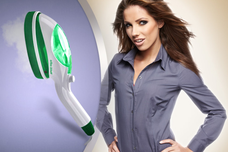 £15 instead of £29.99 (from efbe-schott) for a portable handheld garment steamer & attachments - steam your clothes and save 50%