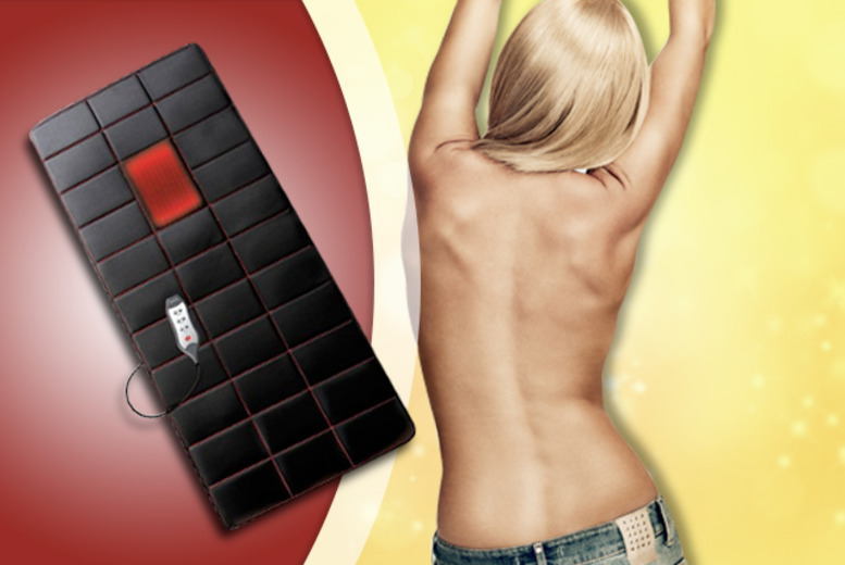 £29.99 for a HoMedics full body massage mat with soothing heat function from Wowcher Direct