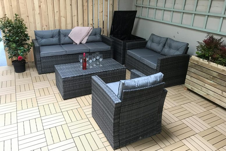 6-Seater Holly Rattan Furniture Set (£559)