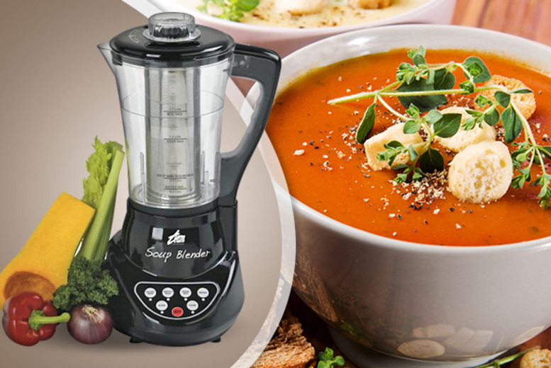£39 instead of £78.90 (from Team UKI) for a soup blender - whip up tasty soups and save 51%