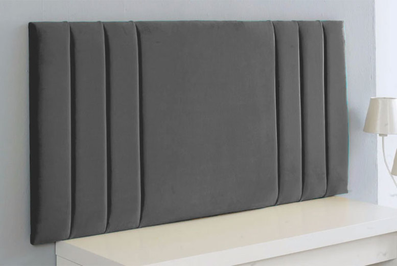 From £30 for a plush velvet headboard from Serene Living – save up to 54%