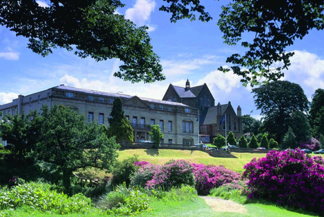 From £139 (at Shrigley Hall Hotel) for an overnight stay for two in a standard room, dinner, glass of Prosecco and spa treatment, from £159 for a stay in a deluxe room