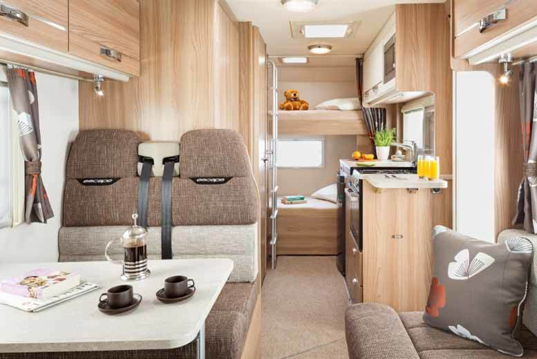 From £209 instead of £360 for a three night motorhome hire for up to six, or £299 for seven nights from Bonny Scotland Campers – save up to 42%
