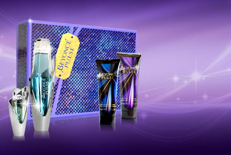 £19.99 instead of £44.99 (from Look 'N' Style) for a Beyoncé 4-piece Pulse gift set - save a starstruck 56%