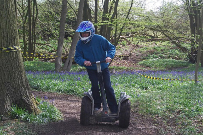 £16 for an off-road Segway experience, or £32 for 2 people at Segway Unleashed in a choice of 2 locations - save 67%