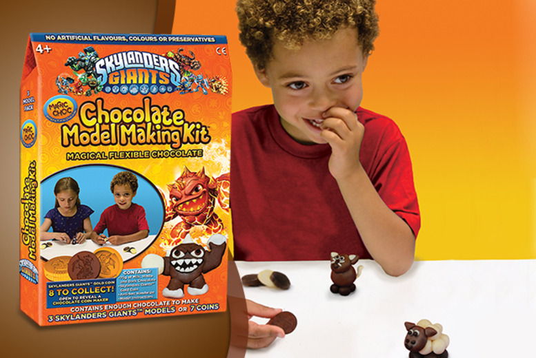 £6.99 (from Wowcher Direct) for a Skylanders' chocolate model making kit - DELIVERY INCLUDED!