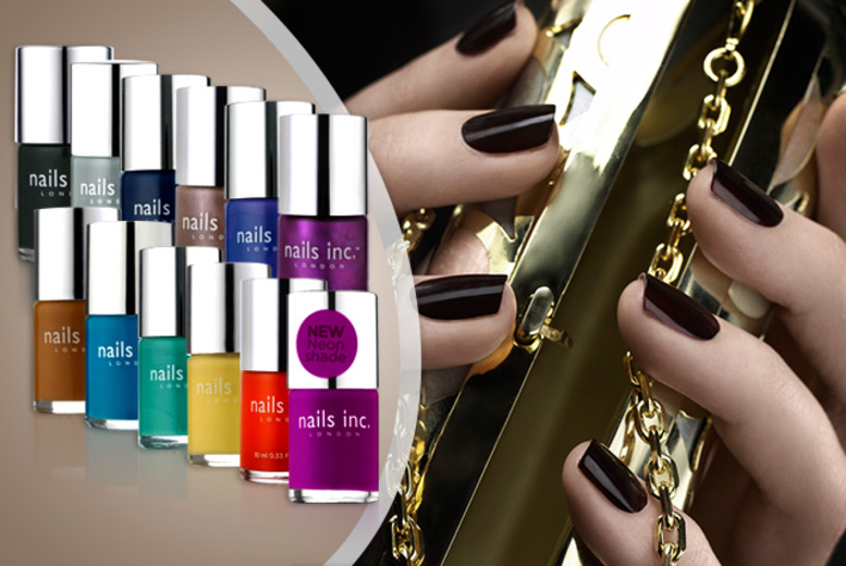 £19.99 for a lucky dip of 7 polishes, £24.99 for 10 or £29 for 15 - this season's range of Nails Inc. colours are sold at £11 a bottle!
