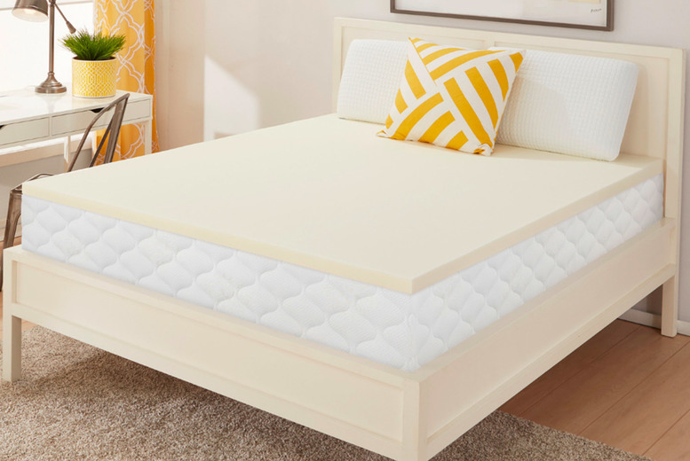 From £28 (from Dream Foam) for a 5cm small single memory plus mattress topper – choose from six sizes!