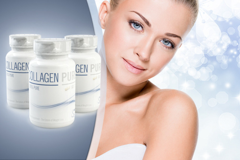 £20 instead of £78 (from GB Supplement) for a 3-month* supply of collagen - save 74% + delivery included
