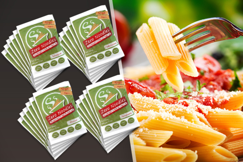 £24 instead of £37.92 (from Zero Noodles) for 24x 200g packs of low-calorie pasta- save 37%