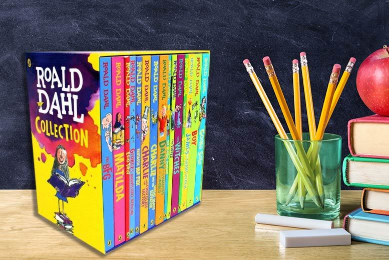 £24.99 instead of £93.86 (from Snazal Deals) for a Roald Dahl 15-book children's collection - save 73%