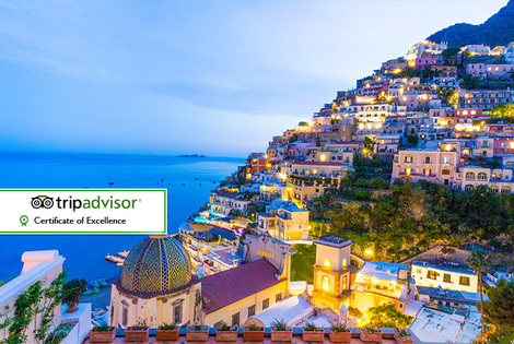 From £99pp for a two-night Italian Amalfi Coast break with breakfast and  flights, from £129pp for three nights or from £169pp for four nights - save up to 27%