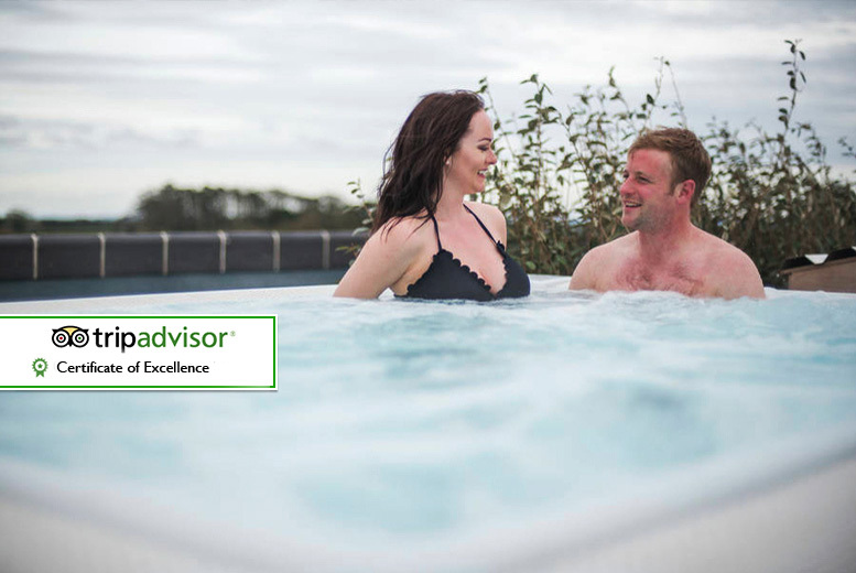 £99 (at the Cotswolds Hotel & Spa) for an overnight stay for two with glass of Prosecco, spa treatment and breakfast each - save up to 42%
