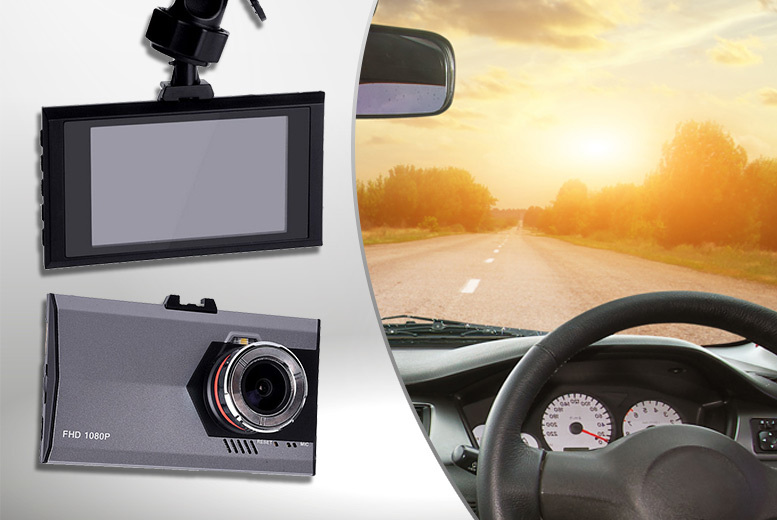 £17.99 instead of £51 (from EFMall) for a 1080P HD car DVR dash camera - save 65%