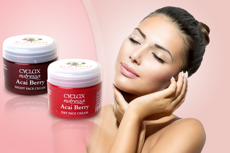 £9.99 instead of £39.99 (from Pamper Me Store) for an Acai berry 'day and night' face cream set - save 75%