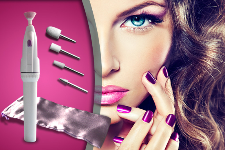 £6.99 instead of £19.99 (from Quick Style) for a Salon Shaper 5-piece manicure kit - nail a saving of 65%