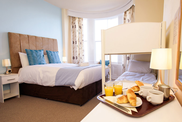 From £49 for a one-night stay for two people in an en-suite room, or from £59 for two nights at The Clarence Gardens Hotel, Scarborough