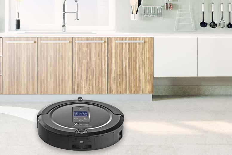 £79 instead of £391.01 (from Darton Global) for a Pursonic i7 Pro robot vacuum cleaner - choose from champagne and red and save 80%