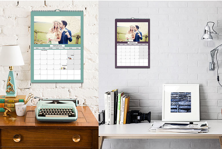 Personalised A4/A3 Photo Calendar - National Deal, National...